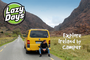 Drive the Wild Atlantic Way in a Lazy Days VW Camper over 3 nights from 300
